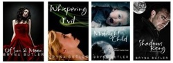YA paranormal books by Bryna Butler