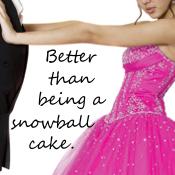 Better than being a snowball cake