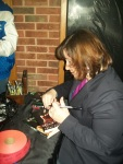 pic of Bryna signing books